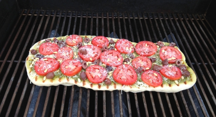Grate Grilled Pizza
